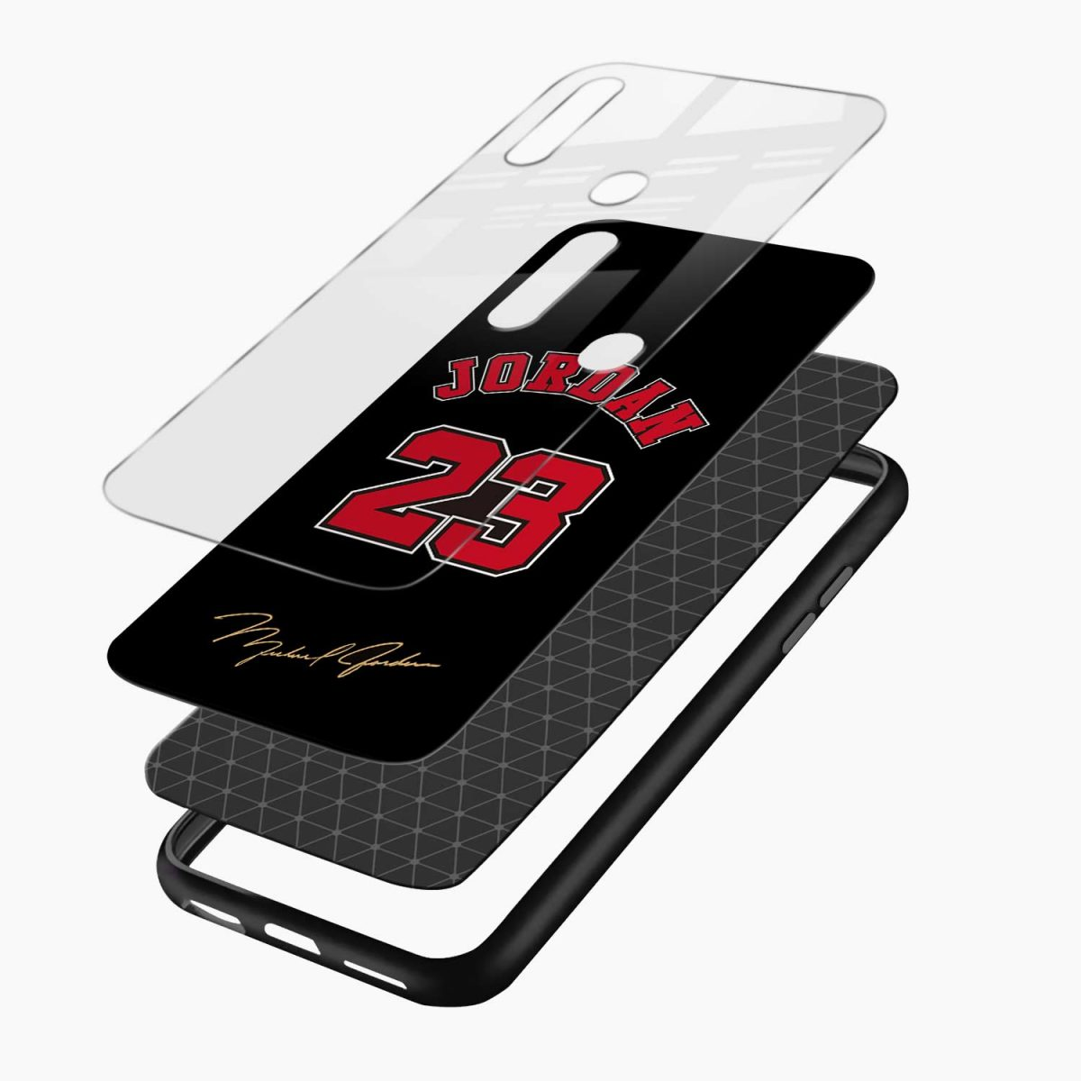jordan 23 layers view oppo a31 back cover