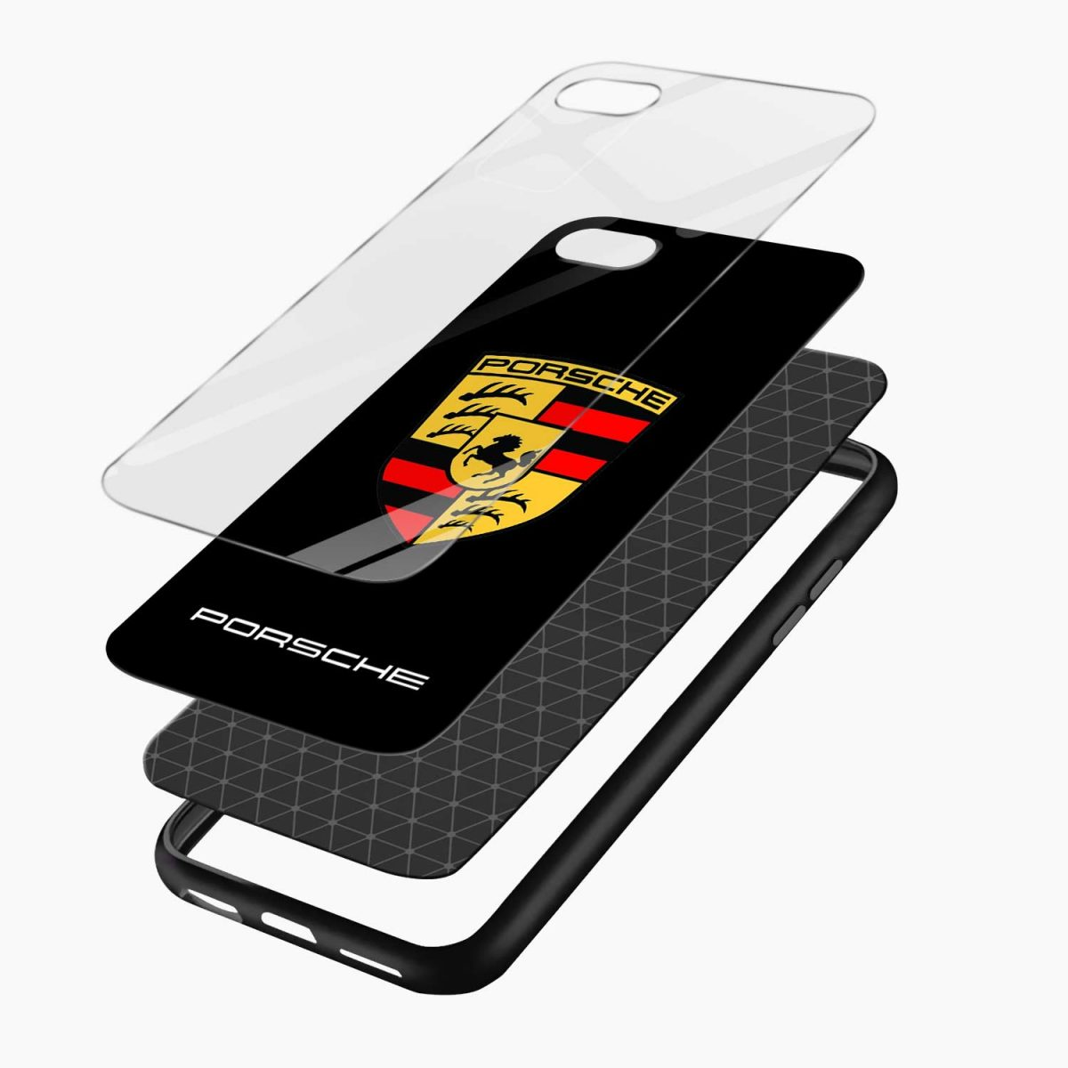 prosche layers view apple iphone 6 7 8 se back cover