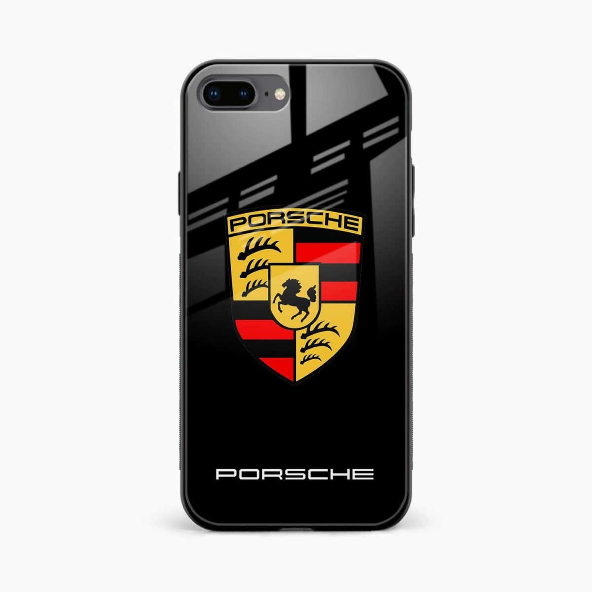 prosche front view apple iphone 7 8 plus back cover
