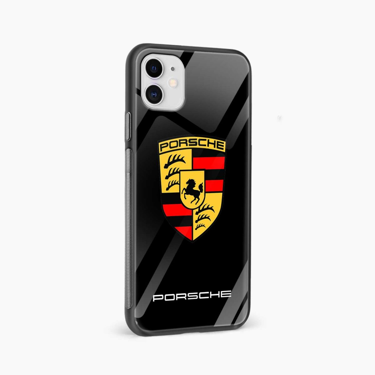 prosche iphone back cover side view