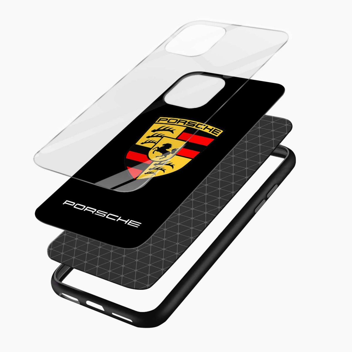 prosche iphone pro back cover layers view