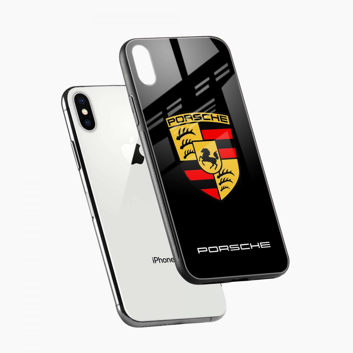 prosche diagonal view apple iphone x xs max back cover