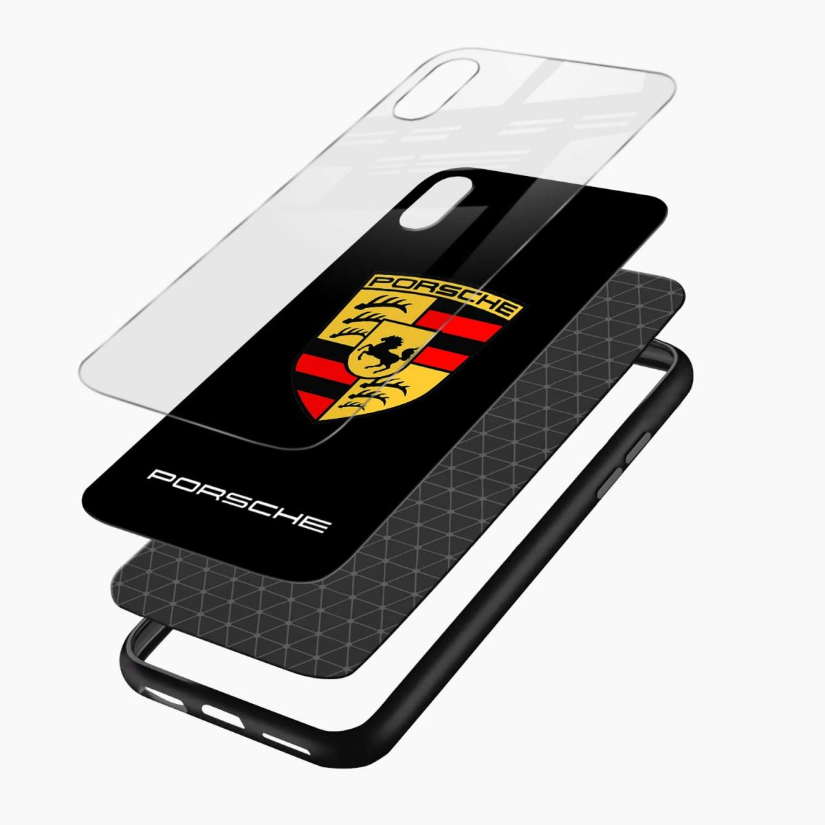 prosche layers view apple iphone x xs max back cover
