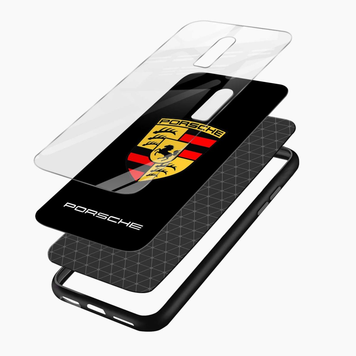 prosche layers view oneplus 6 back cover