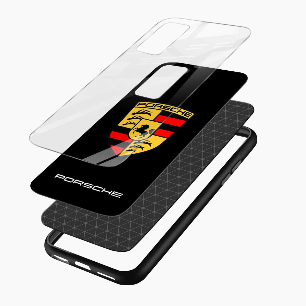 prosche layers view oneplus 9r back cover