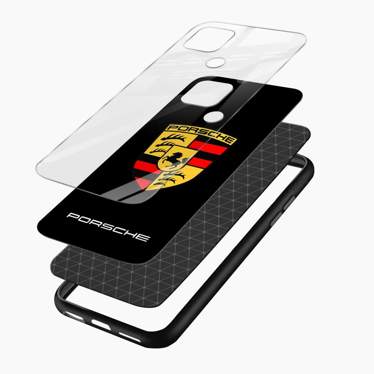 prosche layers view oppo a15 back cover