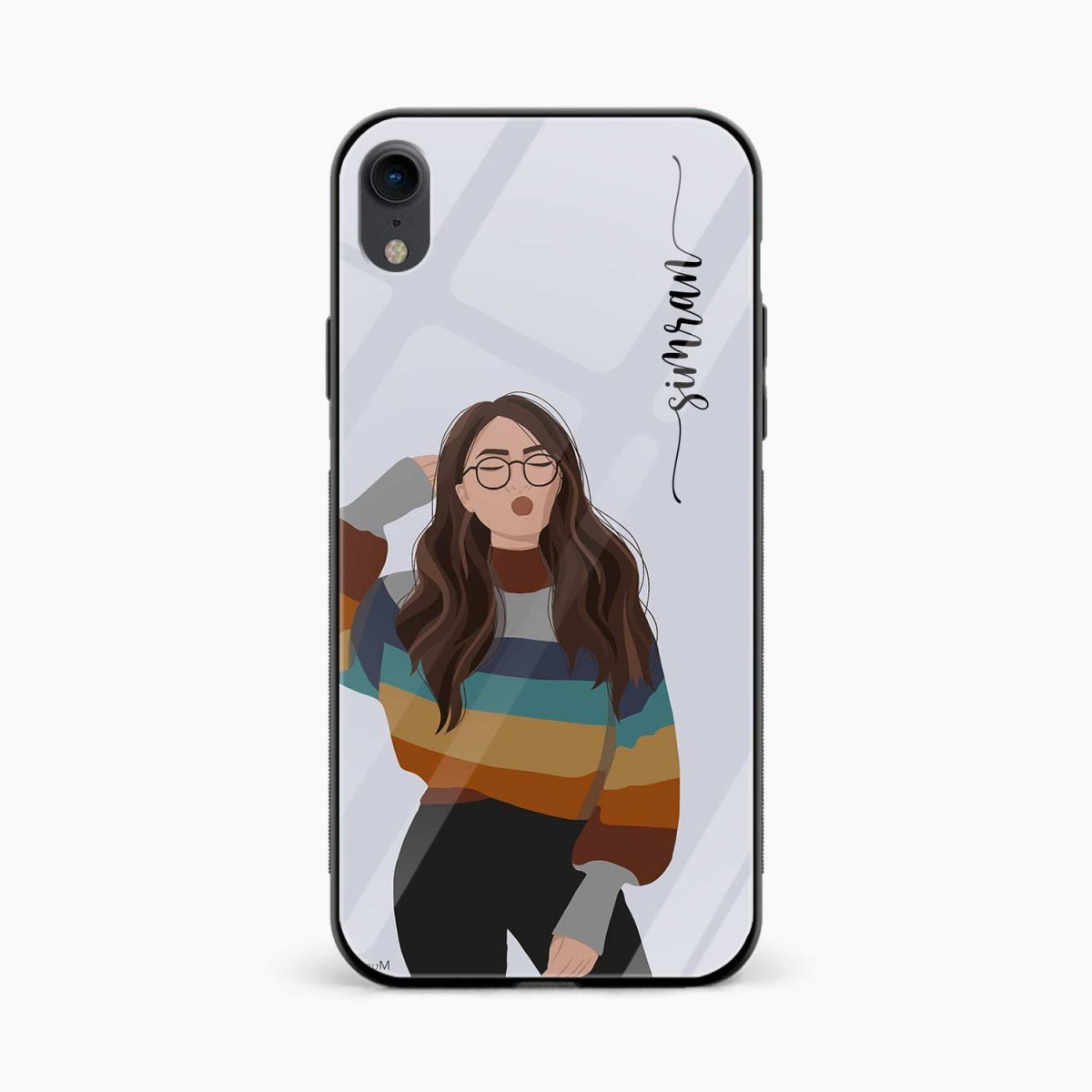 its me apple iphone xr back cover front view