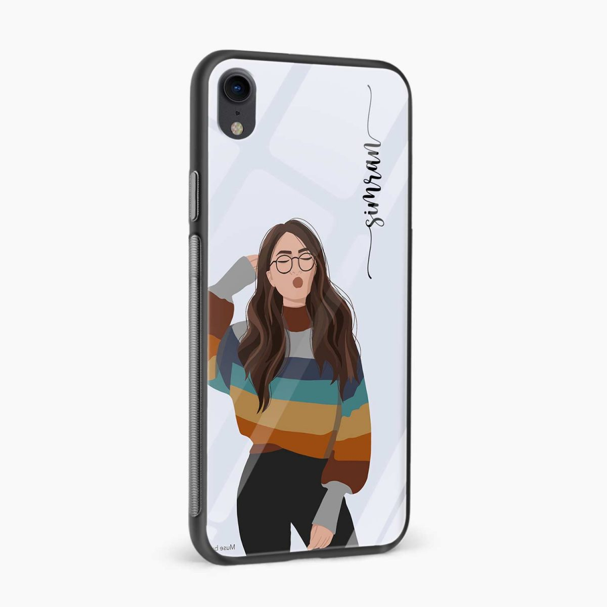 its me apple iphone xr back cover side view