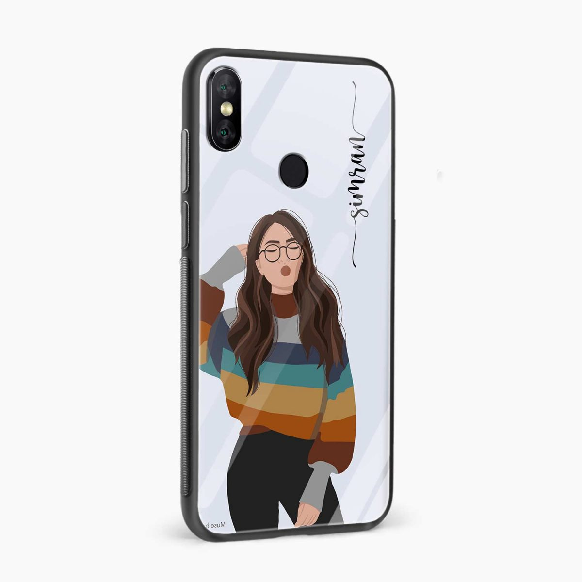 its me redmi note 5 pro back cover side view