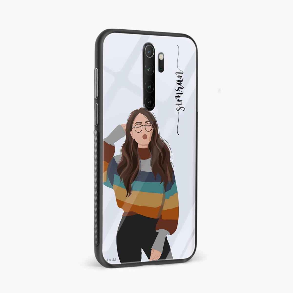 its me redmi note 8 pro back cover side view