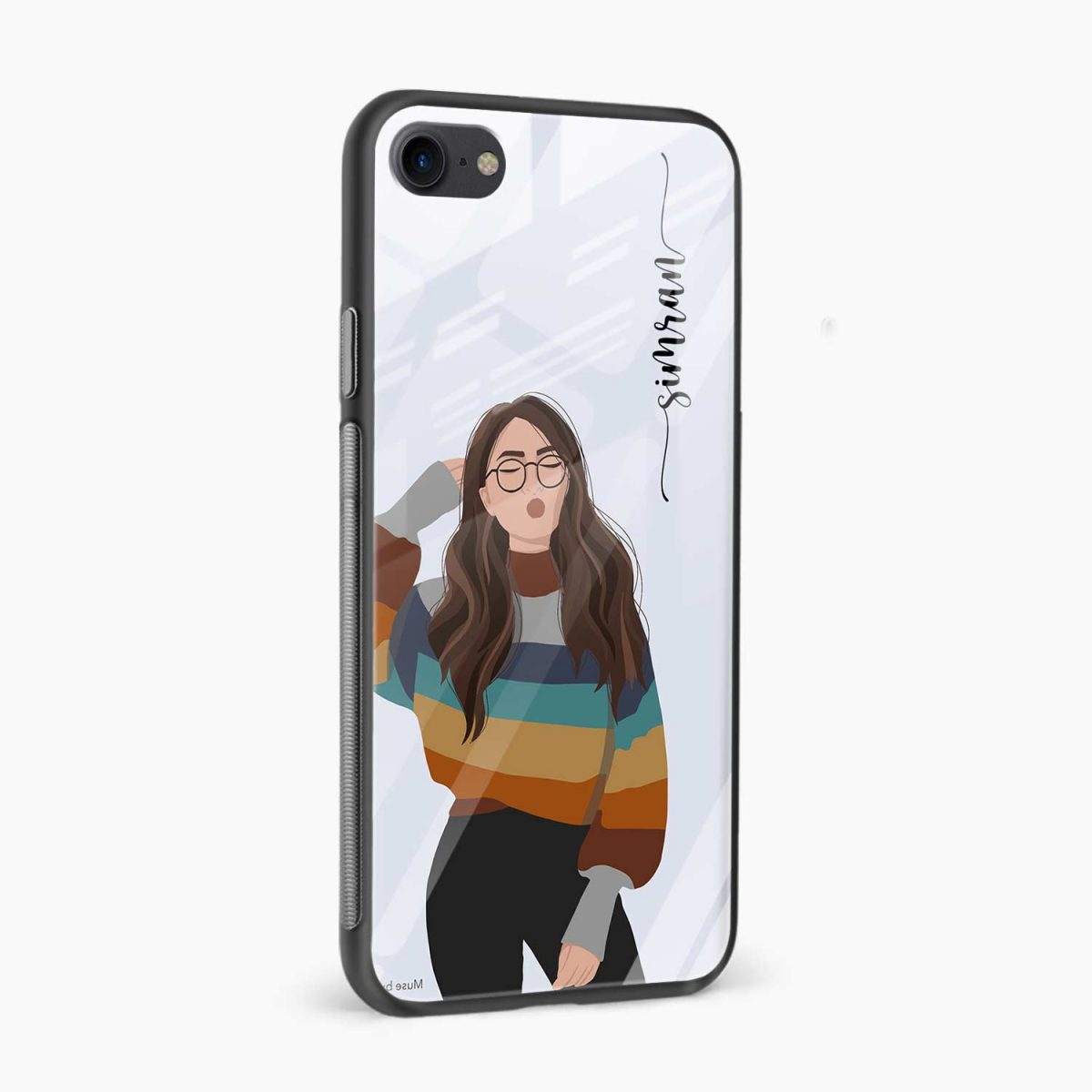 its me side view apple iphone 6 7 8 se back cover