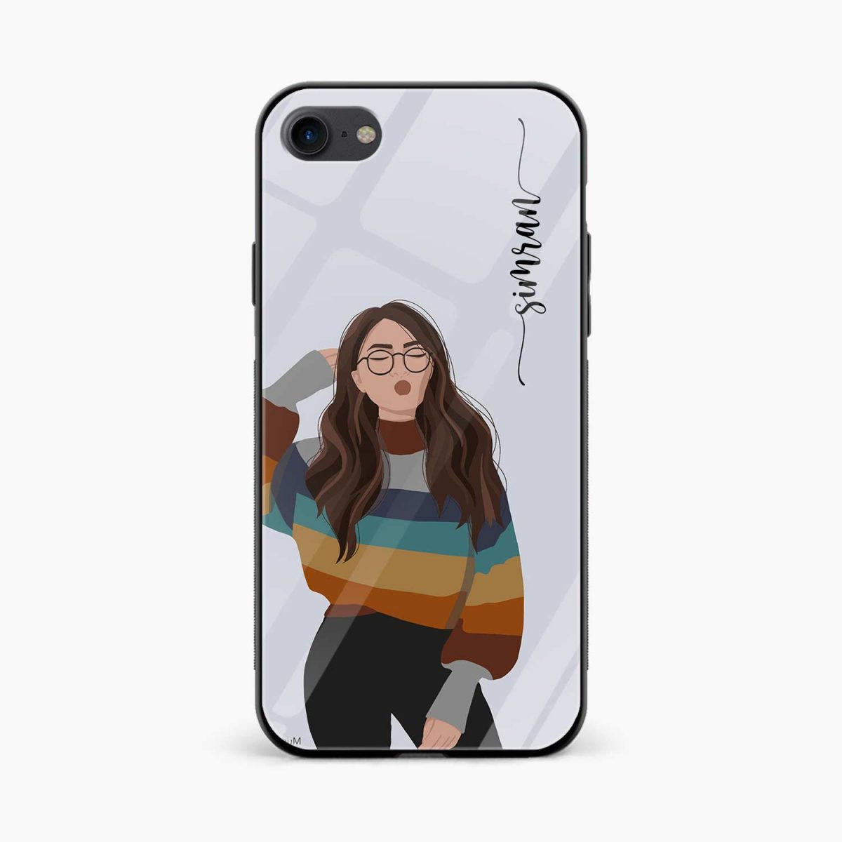 its me front view apple iphone 6 7 8 se back cover