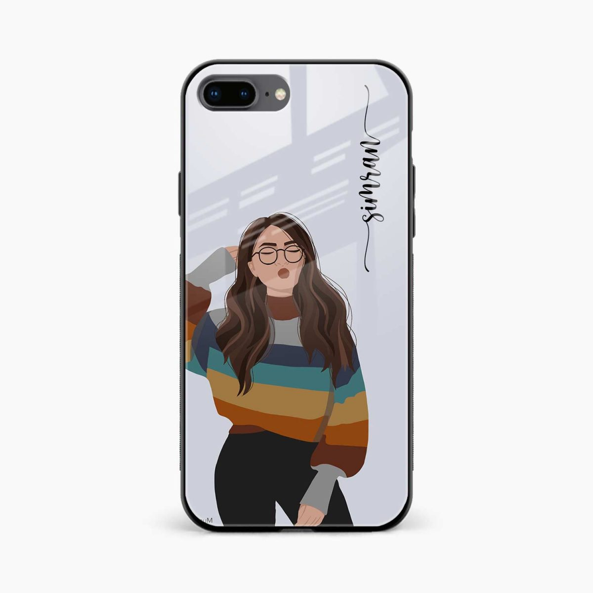 its me front view apple iphone 7 8 plus back cover