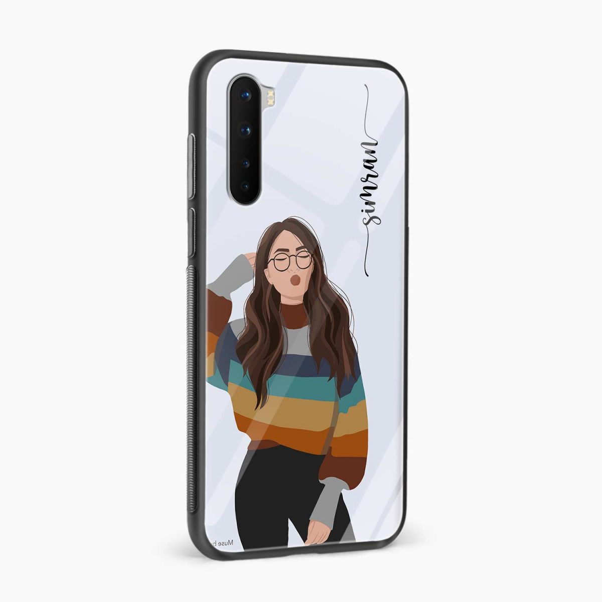 its me side view oneplus nord back cover