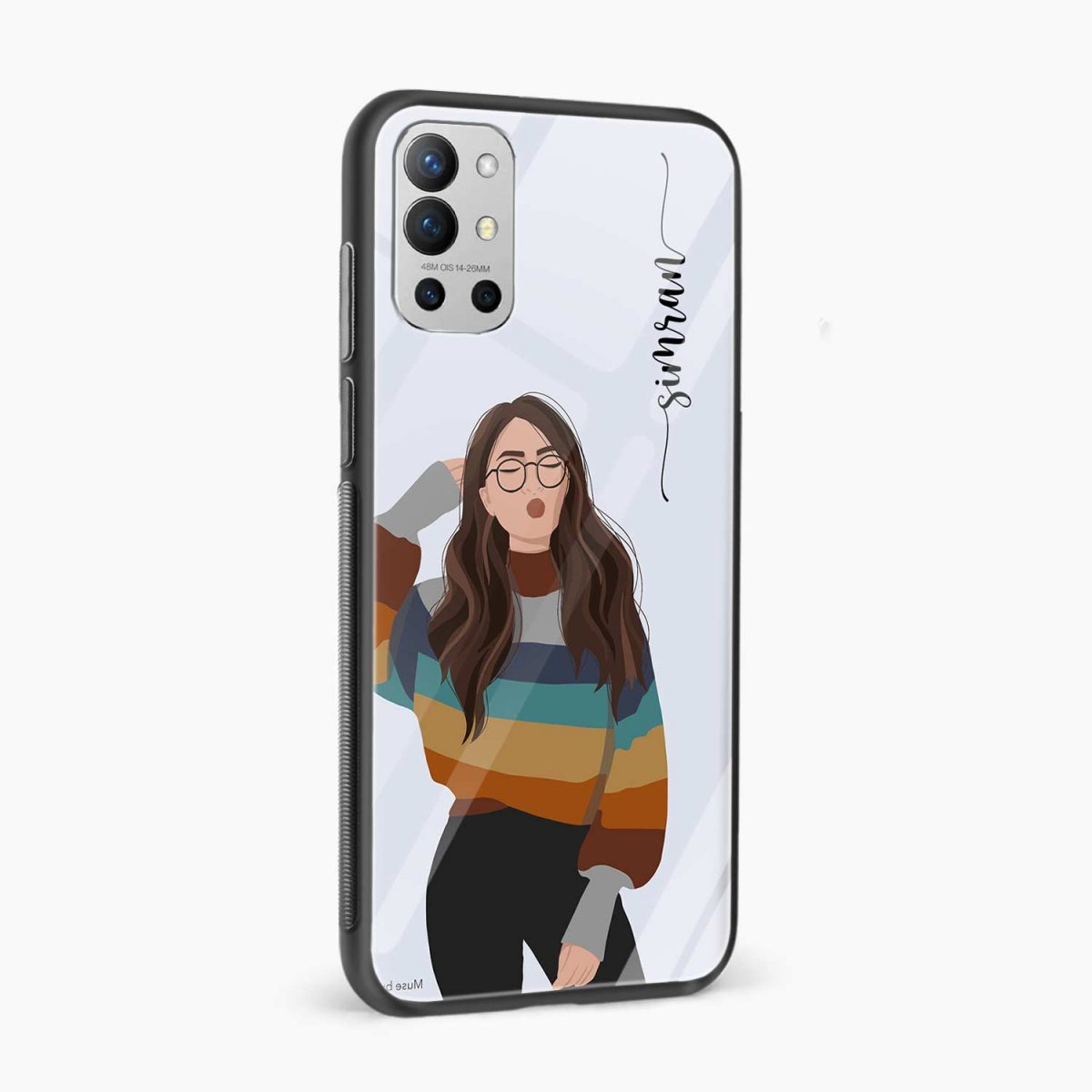 its me side view oneplus 9r back cover