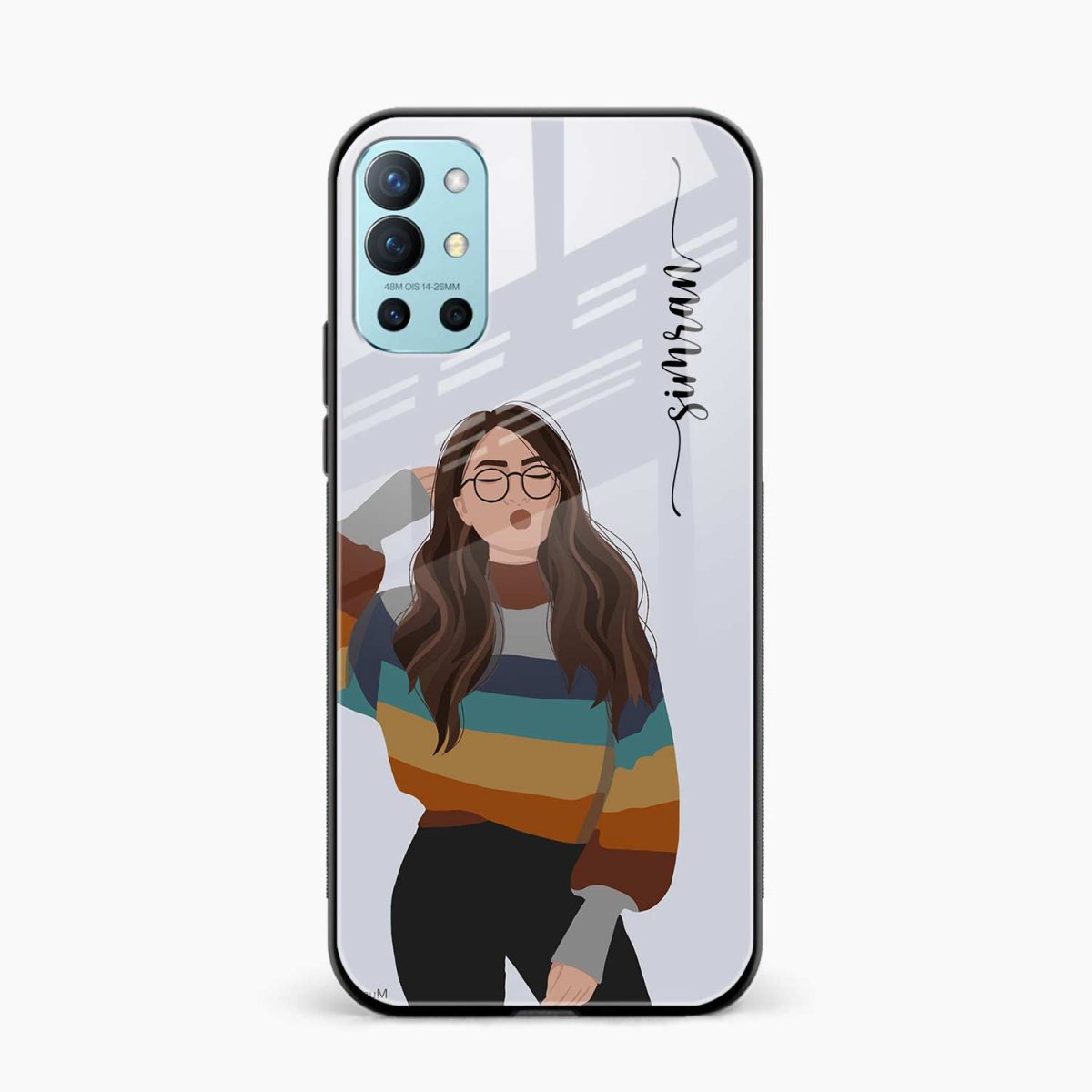 its me front view oneplus 9r back cover