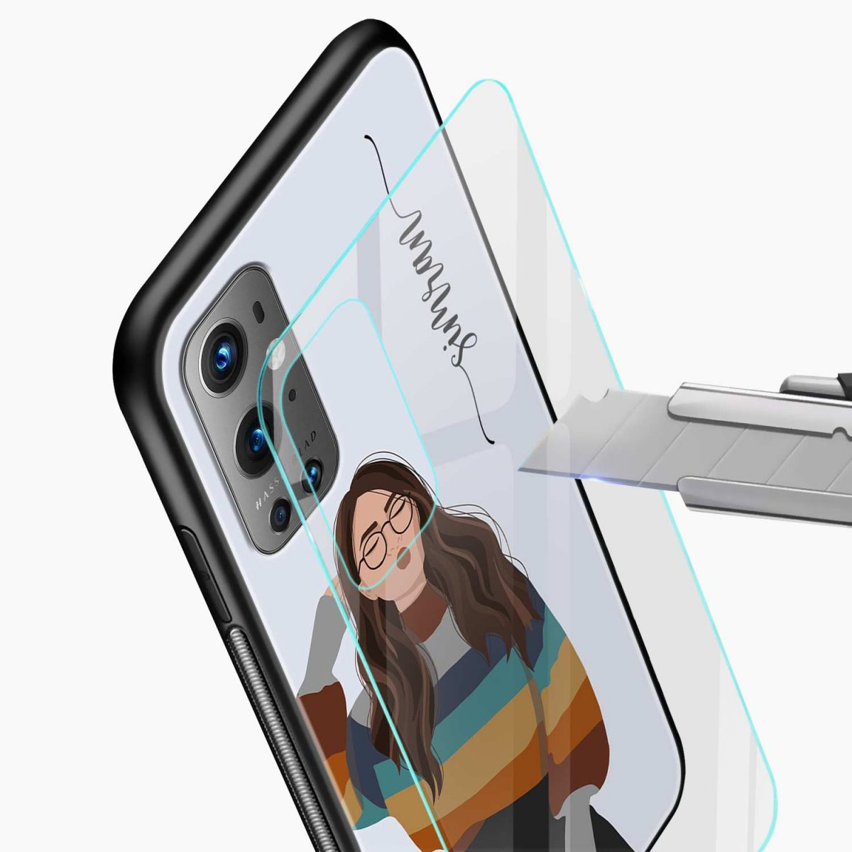 its me glass view oneplus 9 pro back cover