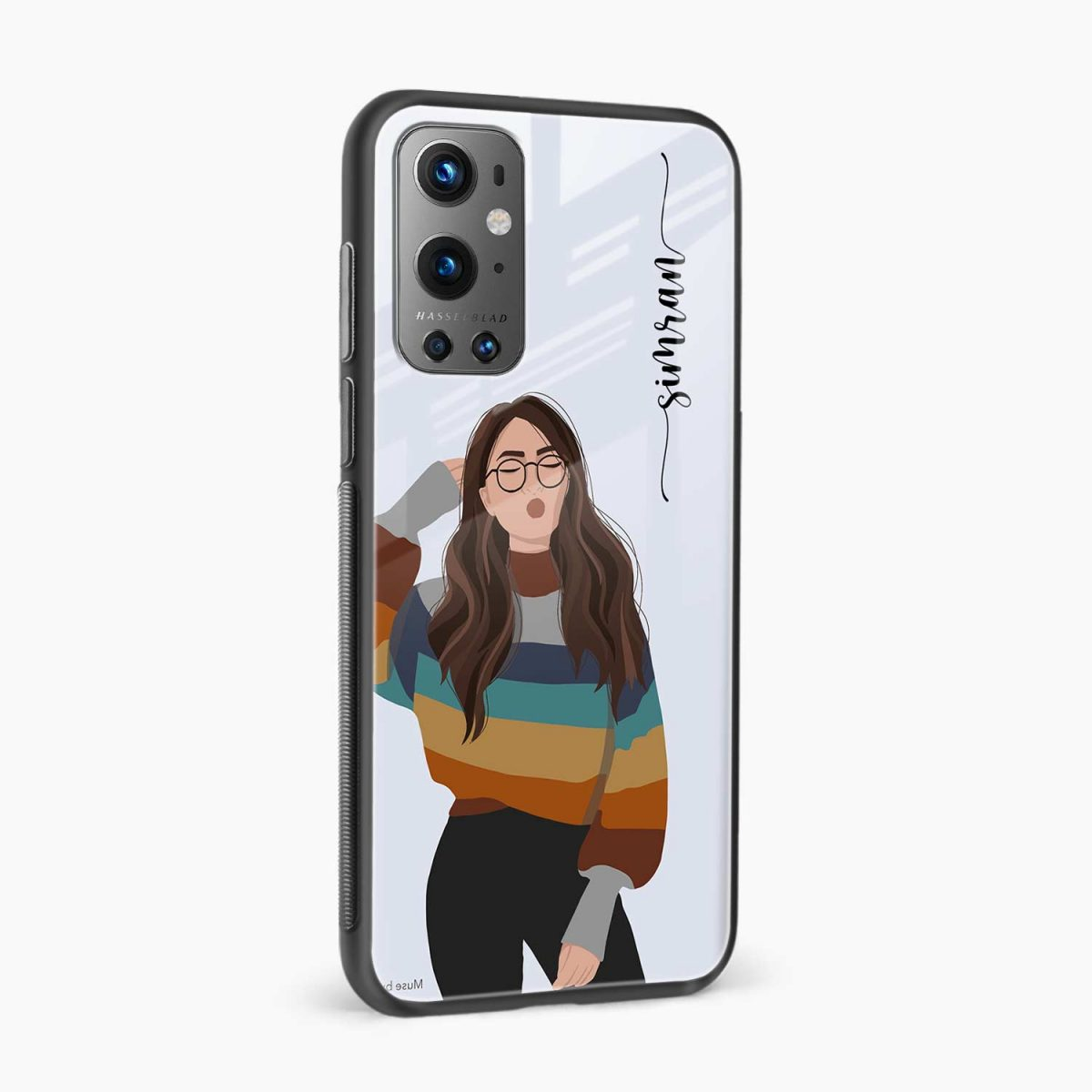 its me side view oneplus 9 pro back cover