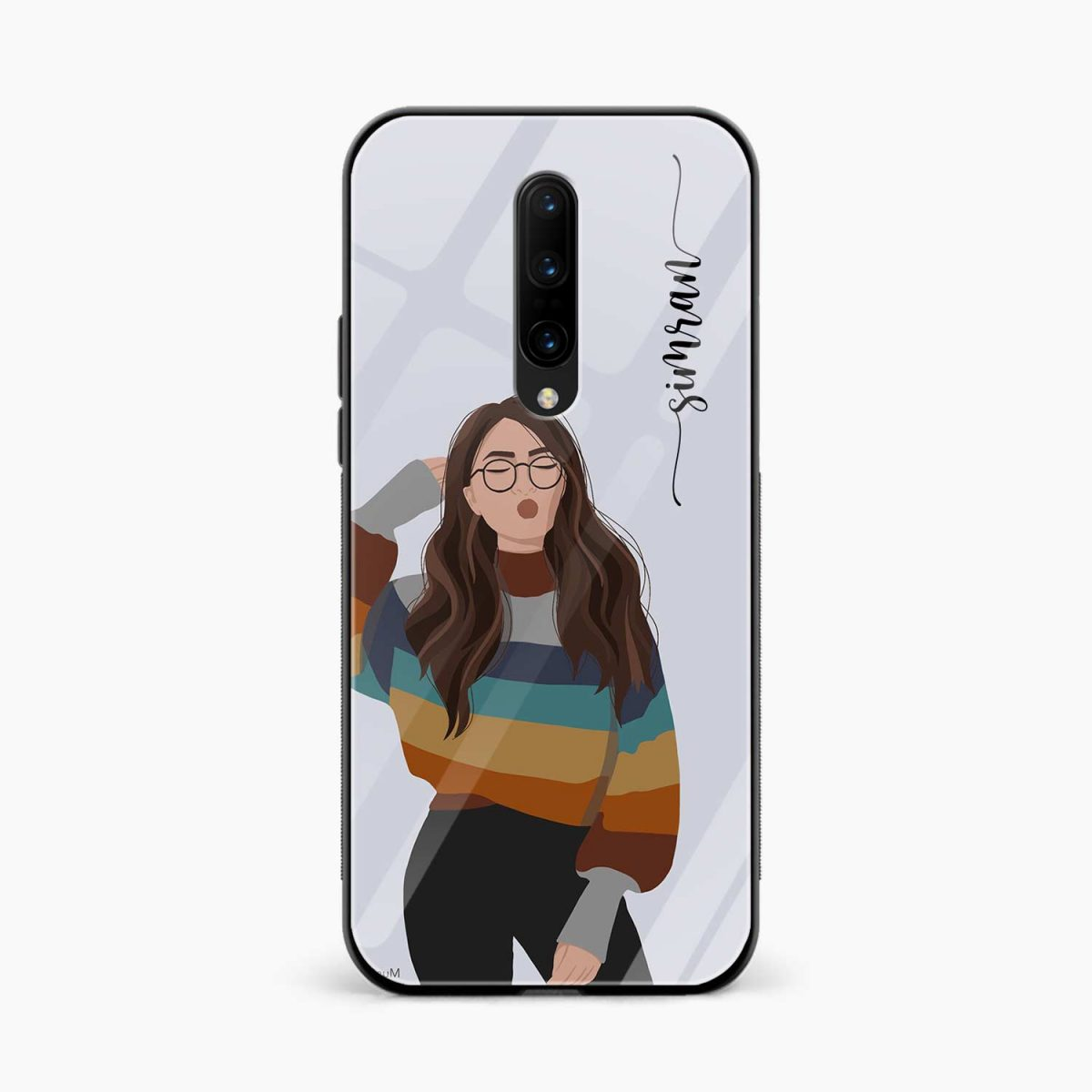 its me front view oneplus 7 pro back cover