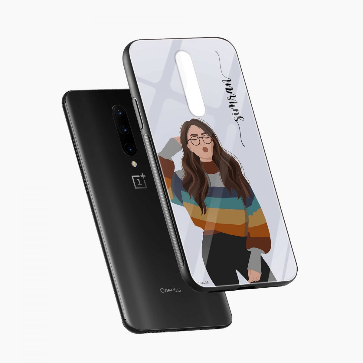 its me diagonal view oneplus 7 pro back cover