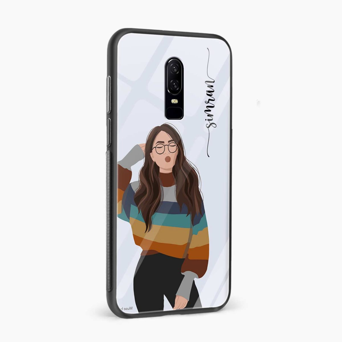its me side view oneplus 6 back cover