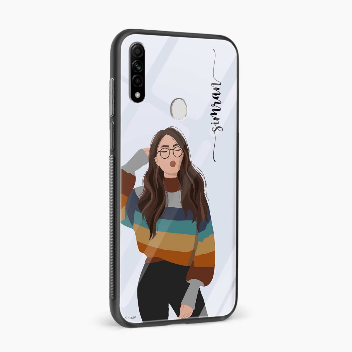 its me side view oppo a31 back cover