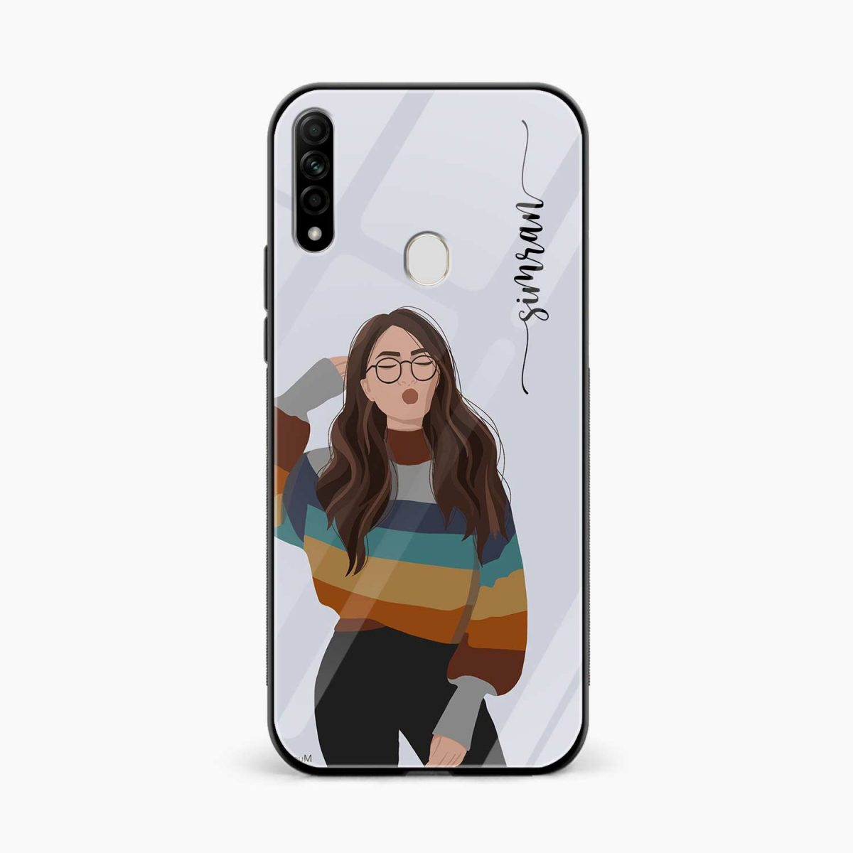 its me front view oppo a31 back cover