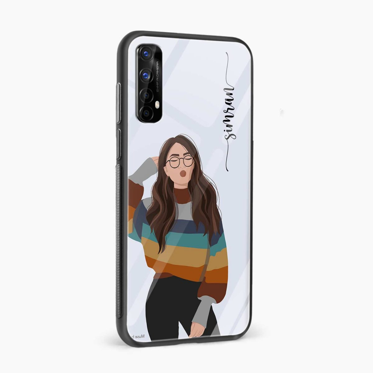 its me side view realme 7 back cover