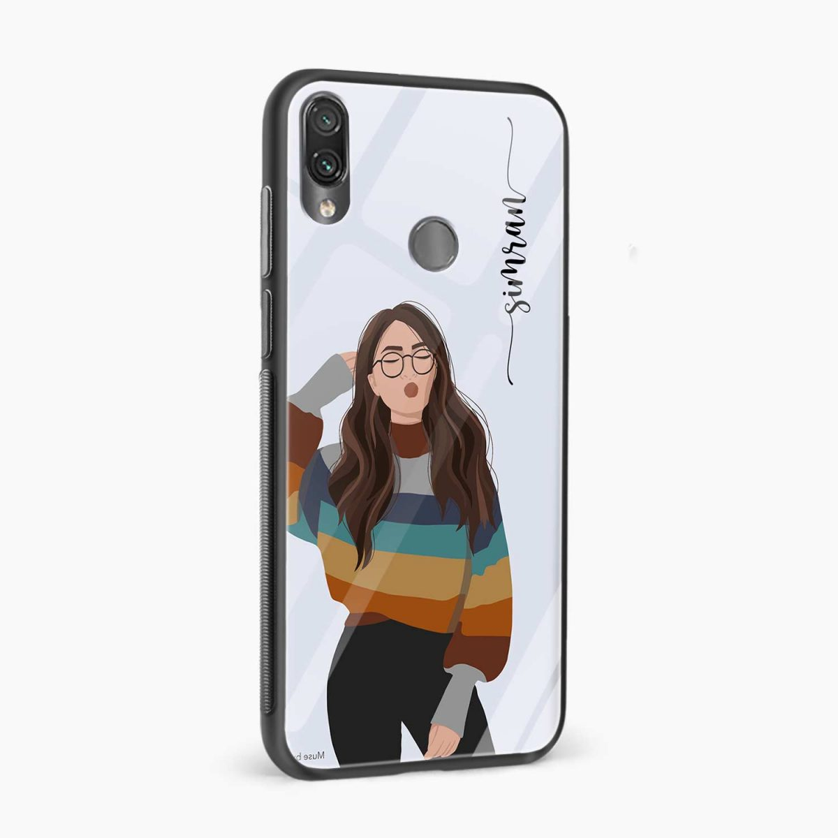 its me side view redmi note7 back cover