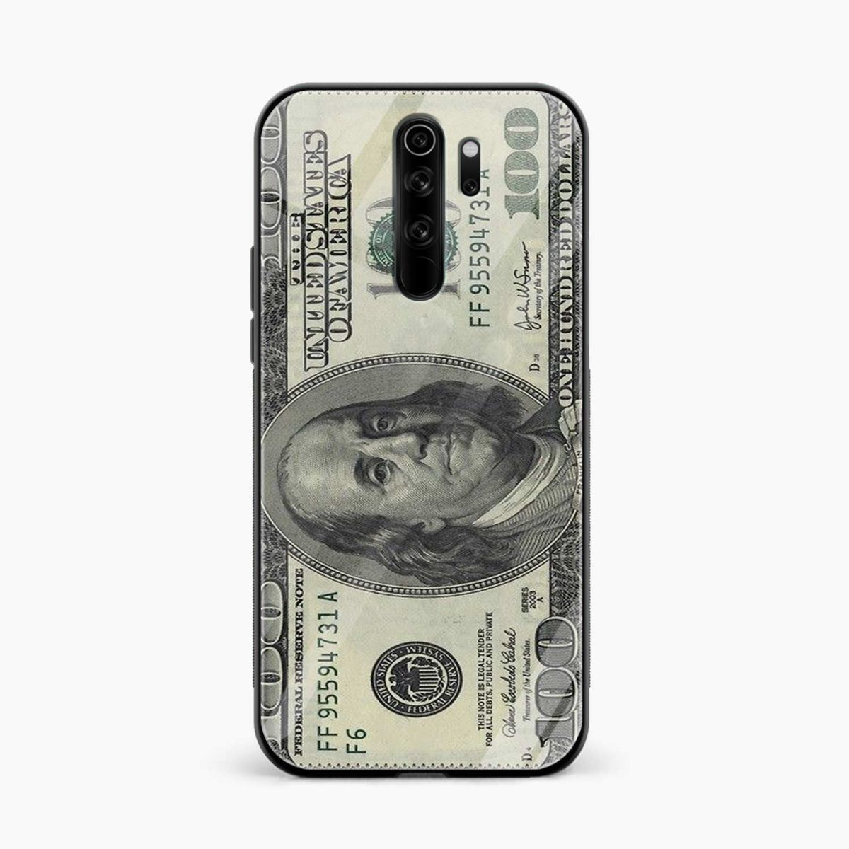 dollar redmi note 8 pro back cover front view