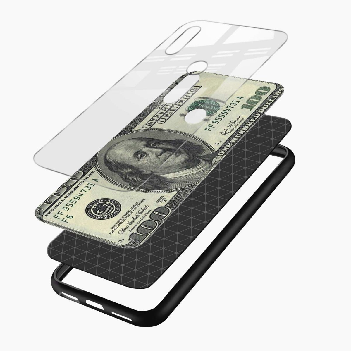 dollar redmi note 5 pro back cover layers view