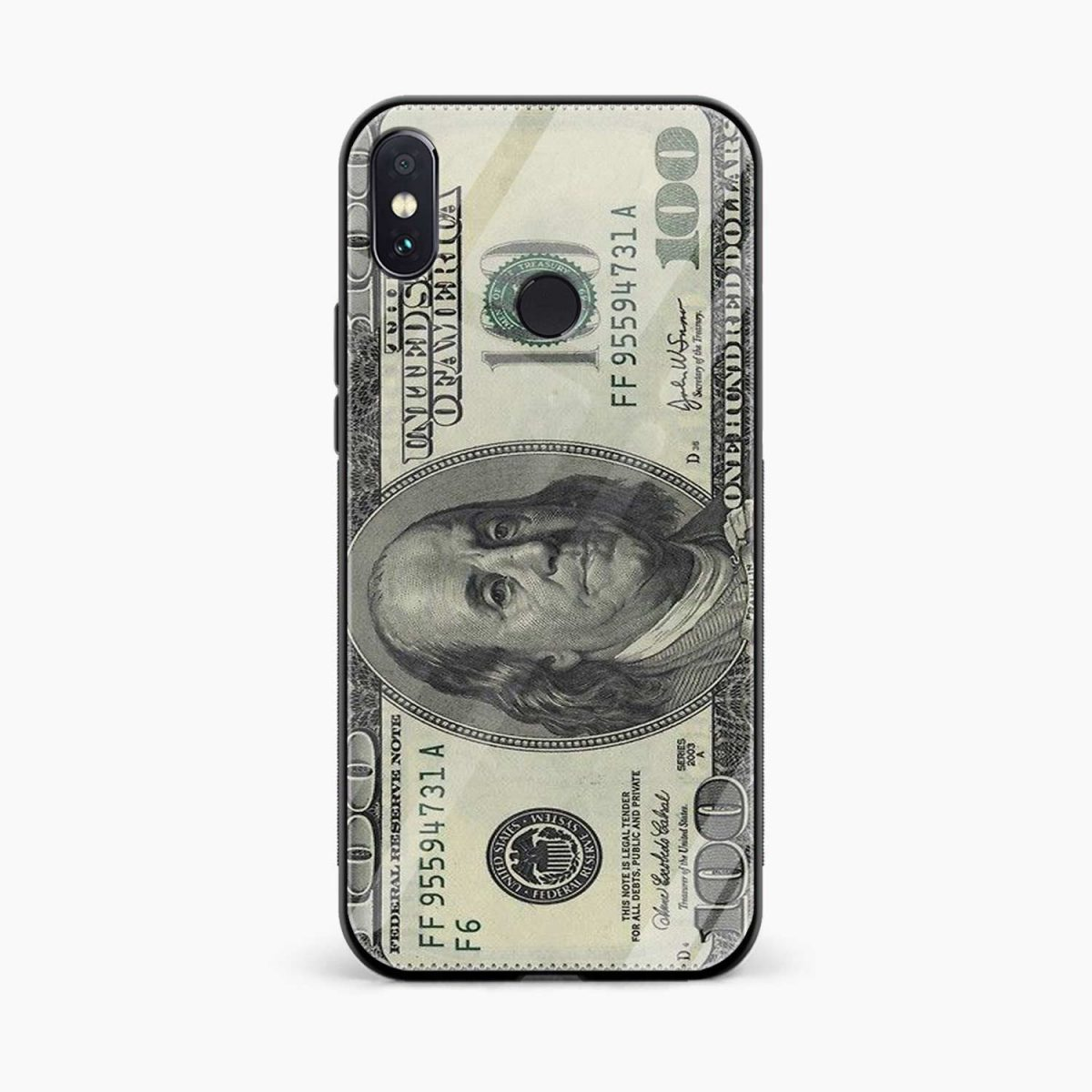 dollar redmi note 5 pro back cover front view
