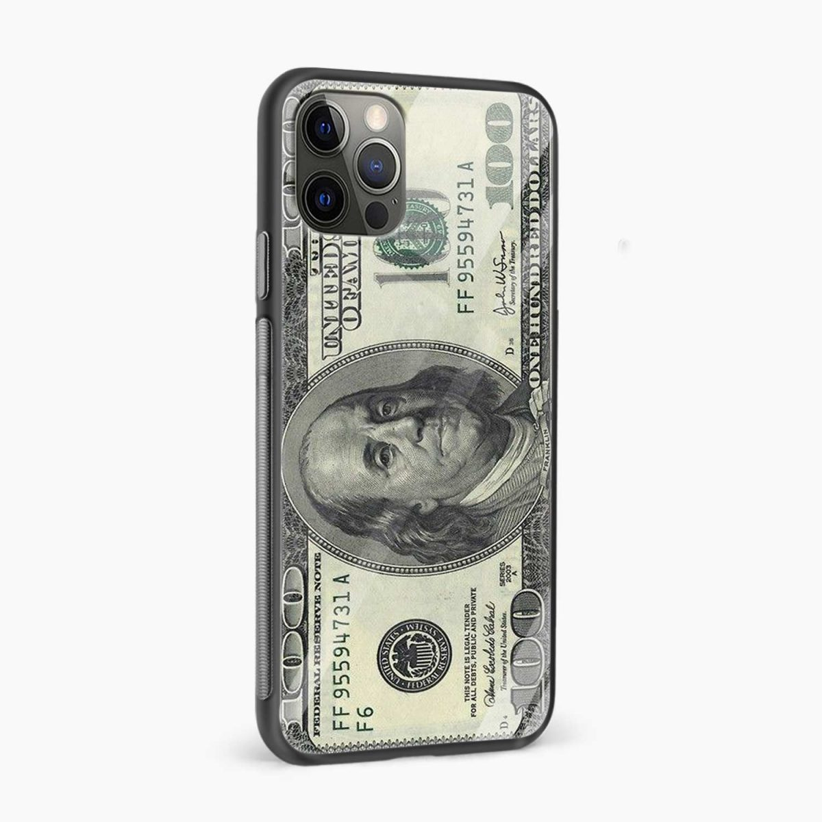 dollar iphone pro back cover side view