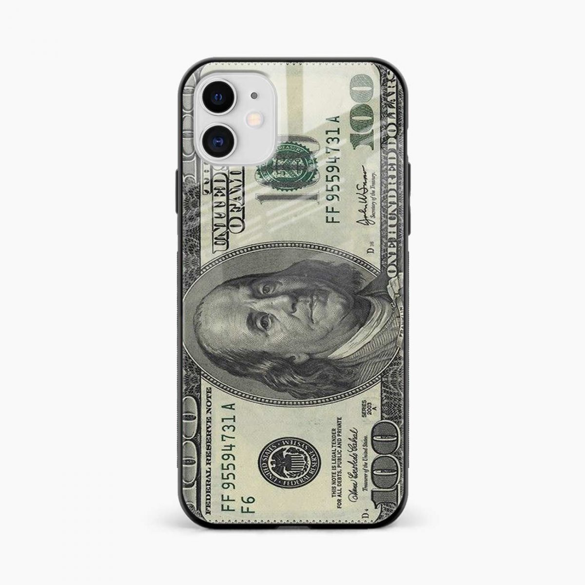 dollar iphone back cover front view