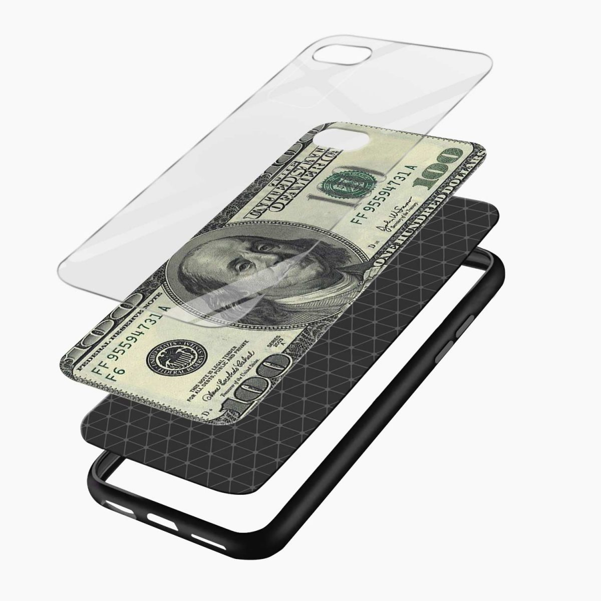 layers view apple iphone 6 7 8 se back cover