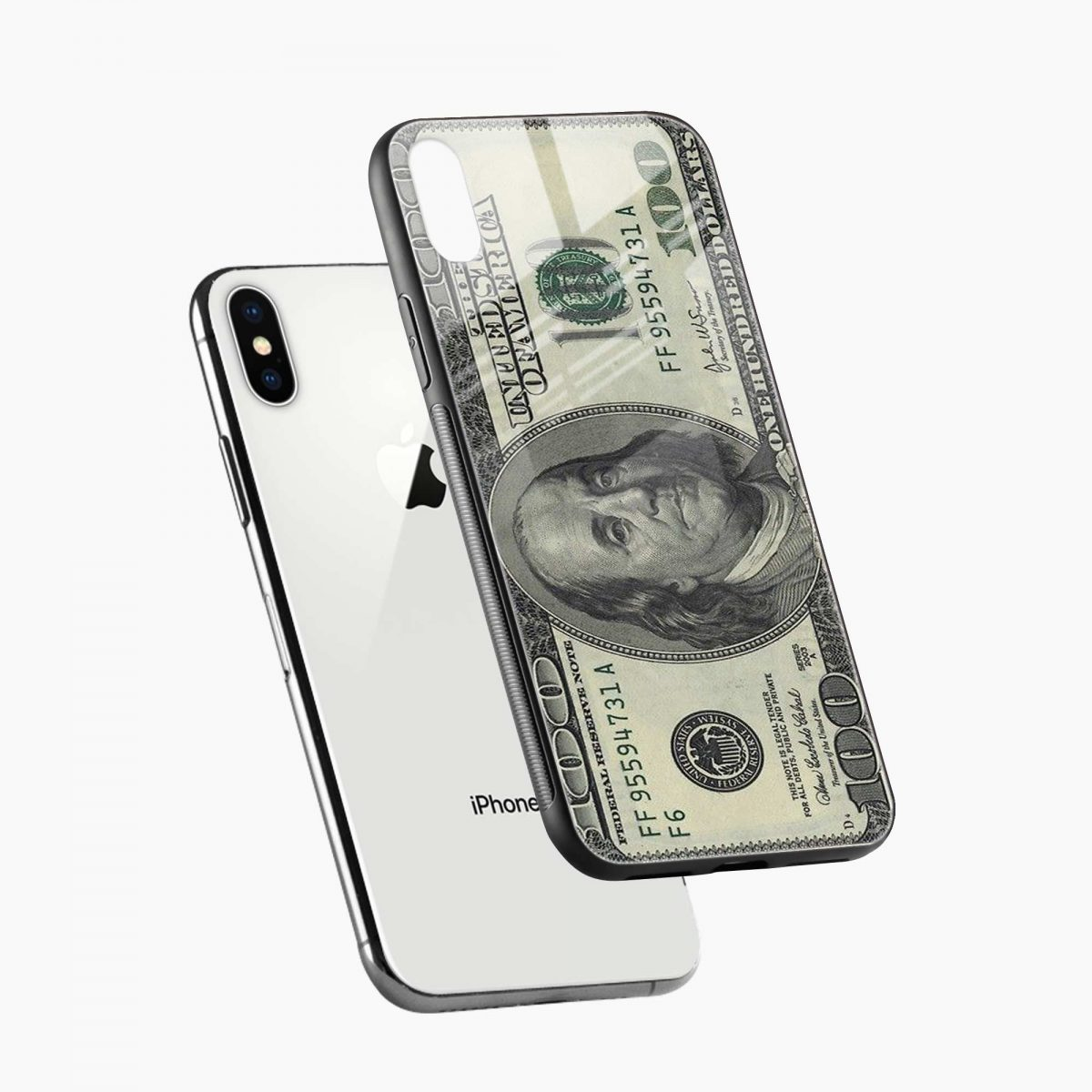 diagonal view apple iphone x xs max back cover