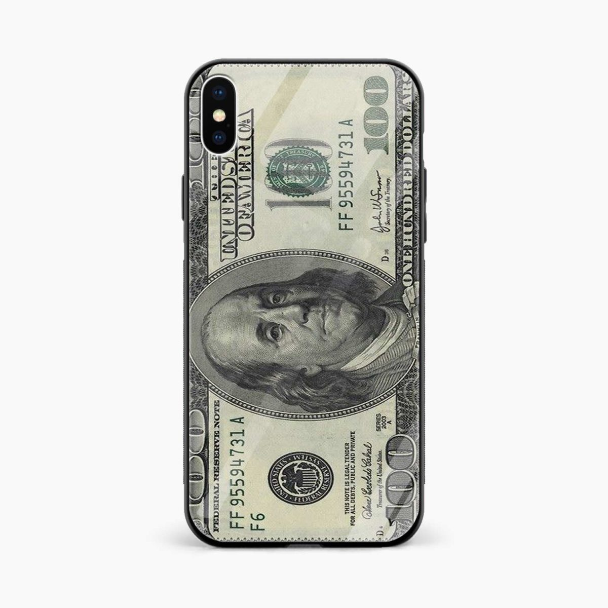 front view apple iphone x xs max back cover