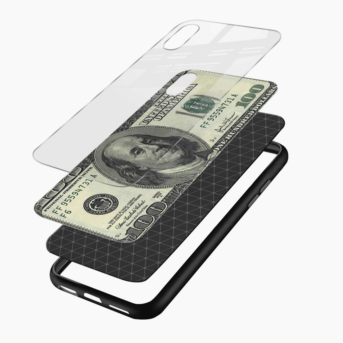 layers view apple iphone x xs max back cover