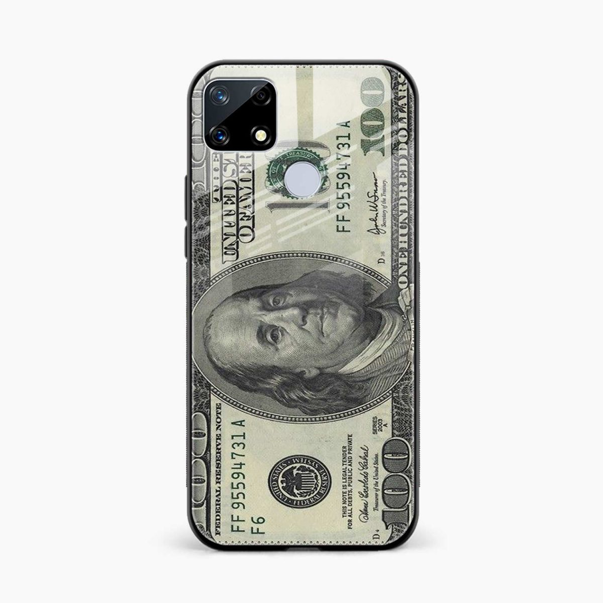 front view realme narzo 20 back cover