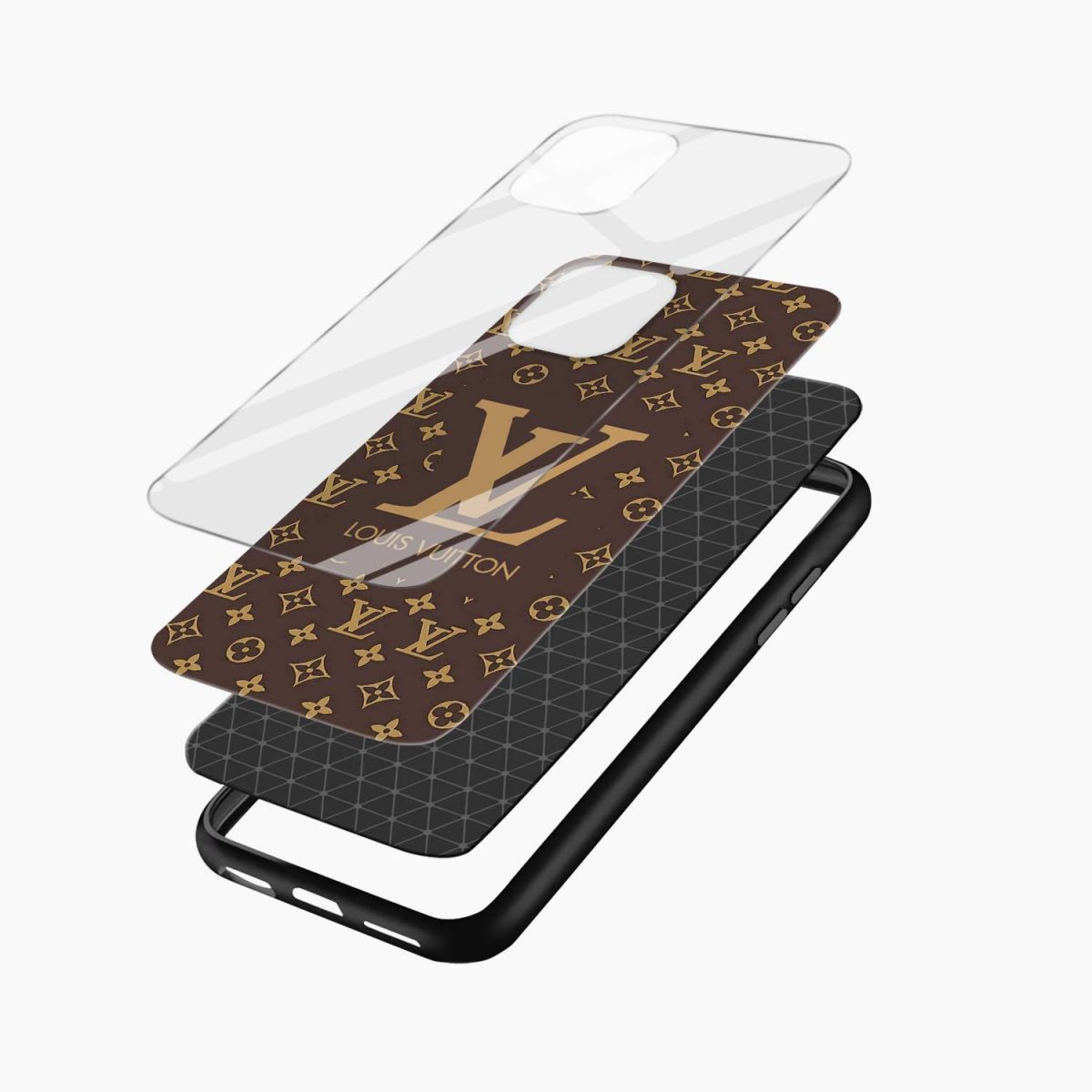 louis vuitton iphone back cover layers view