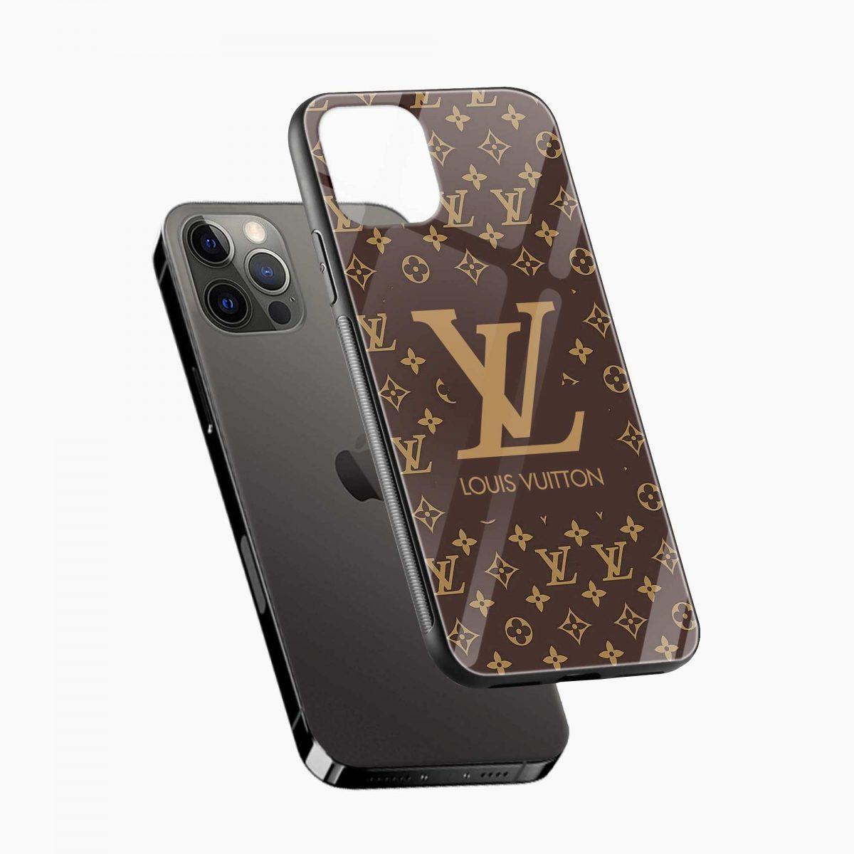 louis vuitton iphone pro back cover diagonal view 1
