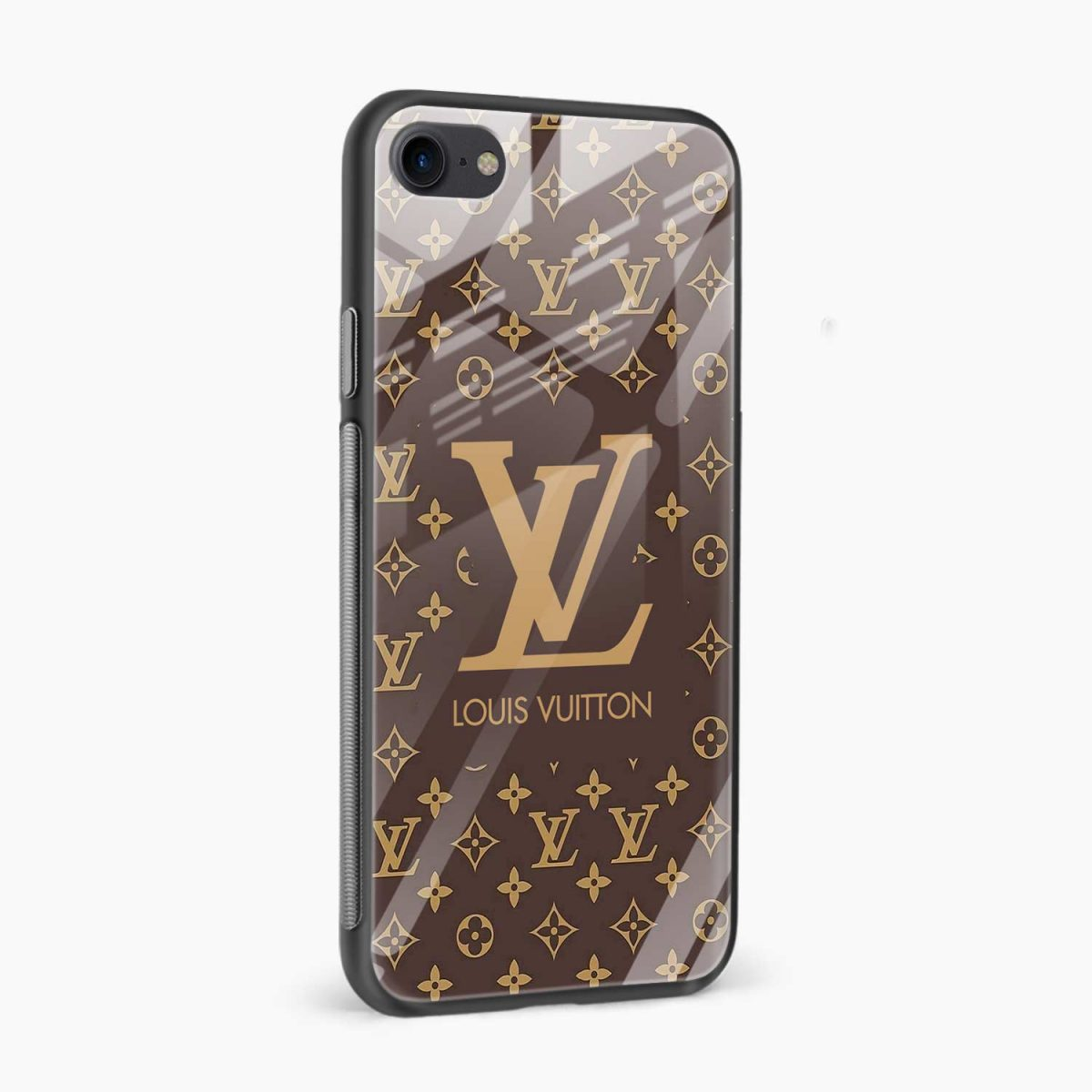 louis vuitton side view apple iphone 6 7 8 se back cover