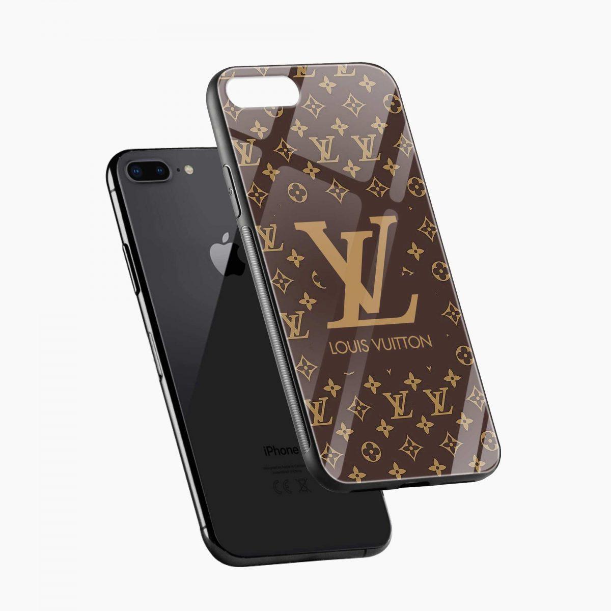 louis vuitton diagonal view apple iphone 7 8 plus back cover