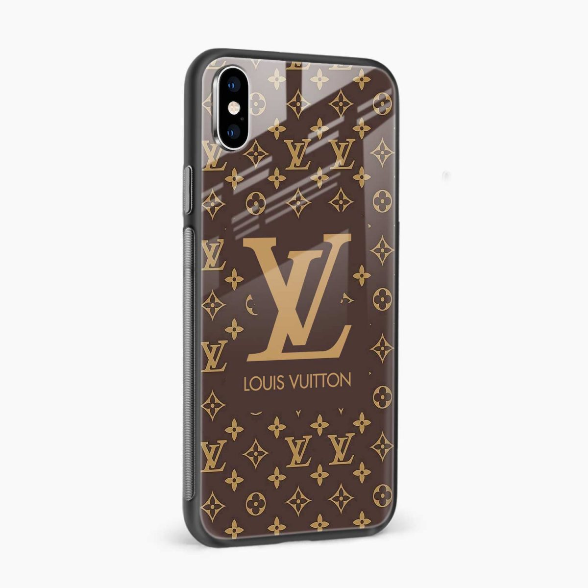louis vuitton side view apple iphone x xs max back cover