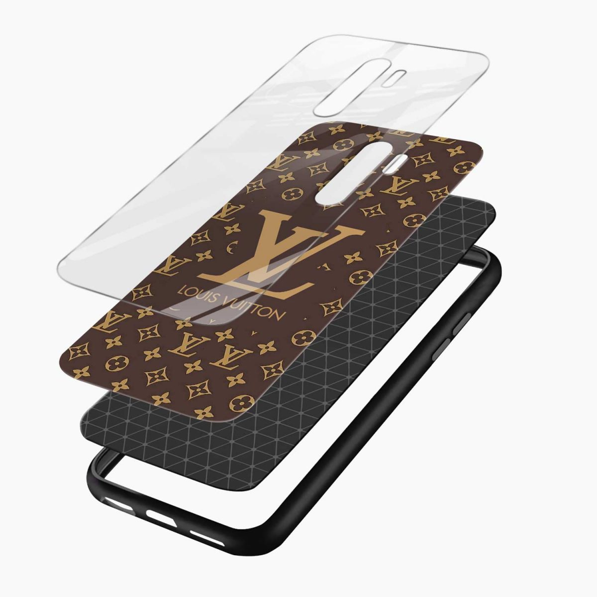 louis vuitton redmi note 8 pro back cover layers view