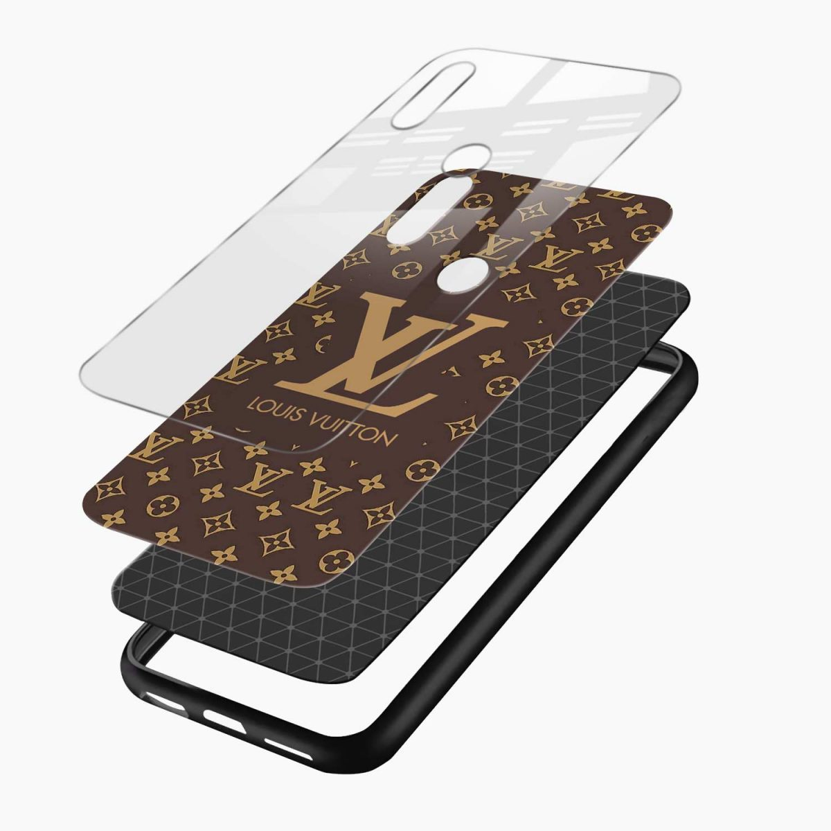 louis vuitton redmi note 5 pro back cover layers view 1