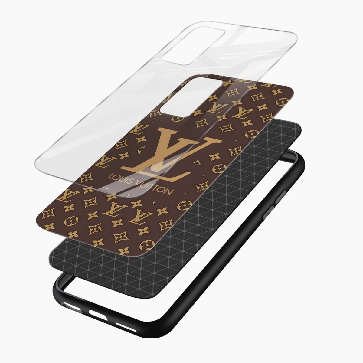 louis vuitton layers view oneplus 9r back cover
