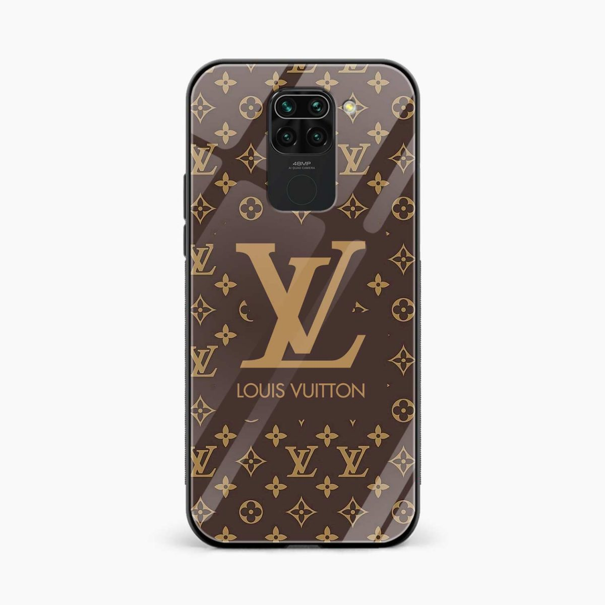 louis vuitton front view redmi note 9 back cover