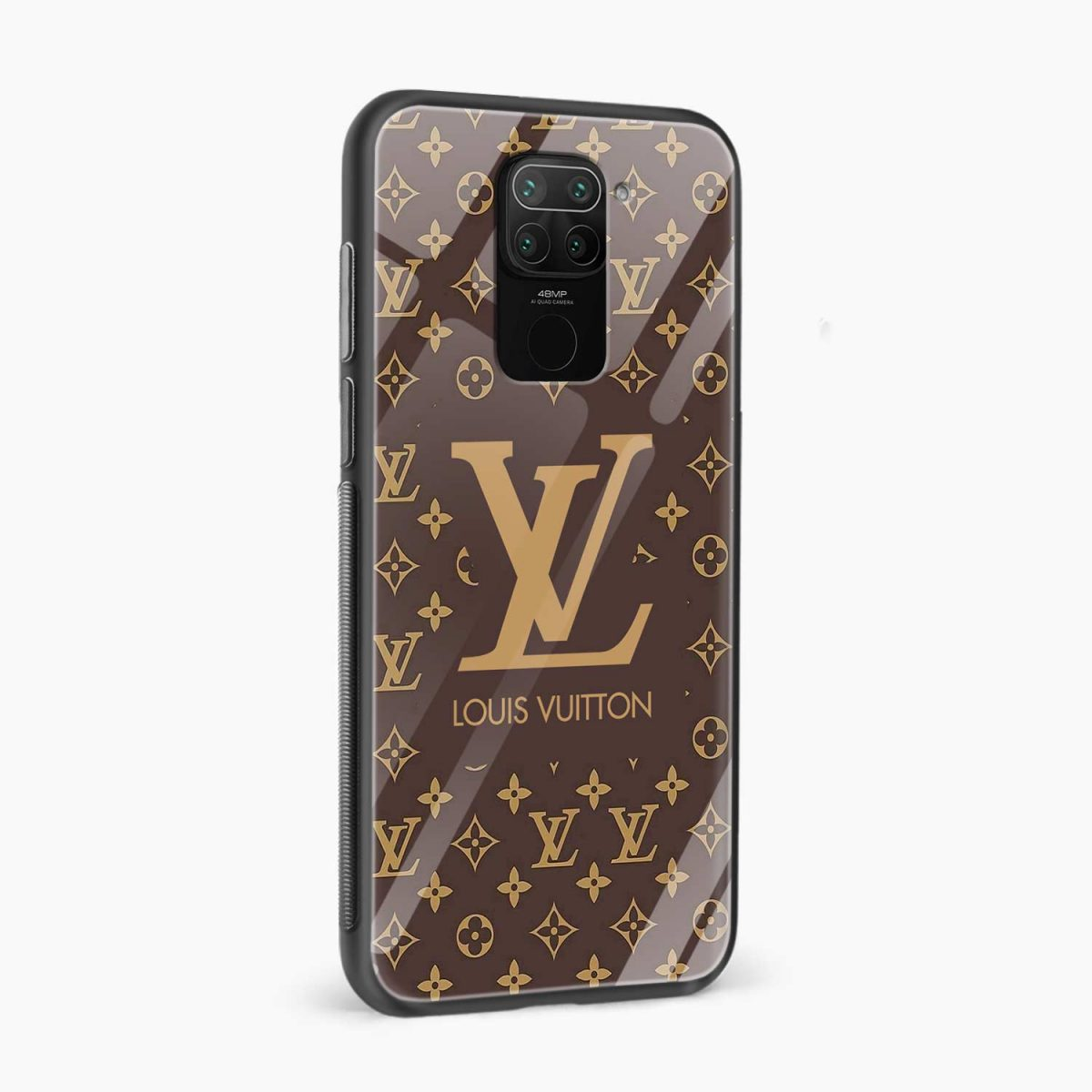 louis vuitton side view redmi note 9 back cover
