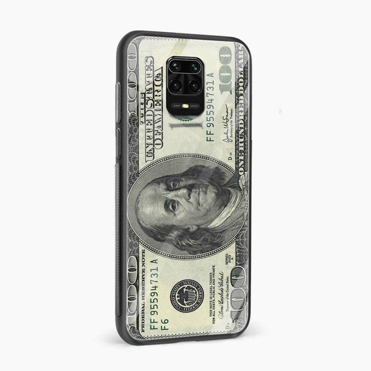 dollar side view redmi note9 back cover